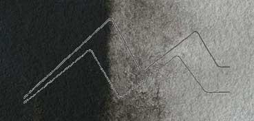 DALER ROWNEY ACUARELA ARTIST SERIE 1 NEGRO MARFIL - IVORY BLACK Nº 034