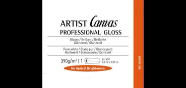 ROLLO CANSON INFINITY ARTIST CANVAS PRO GLOSS 390G POLYALGODÓN