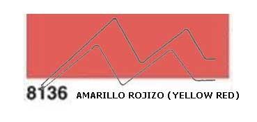 JAVANA PINTURA PARA SEDA AMARILLO ROJIZO (YELLOW RED) RFA.K8136