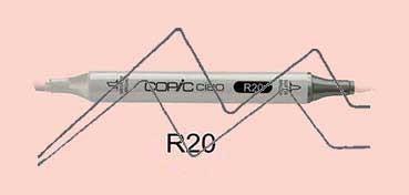 COPIC CIAO ROTULADOR BLUSH R20
