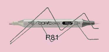 COPIC CIAO ROTULADOR ROSE PINK R81