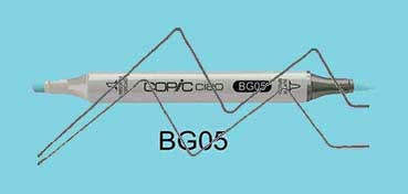 COPIC CIAO ROTULADOR HOLIDAY BLUE BG05