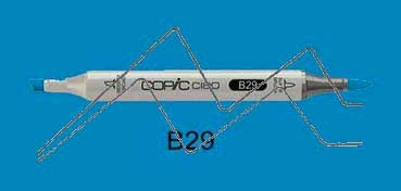 COPIC CIAO ROTULADOR ULTRAMARINE B29