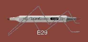COPIC CIAO ROTULADOR BURNT UMBER E29
