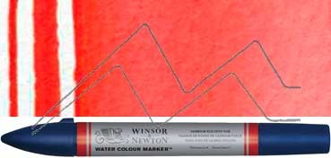 WINSOR & NEWTON ROTULADOR ACUARELA TONO ROJO DE CADMIO OSCURO - SERIE 1 - Nº 098