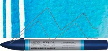 WINSOR & NEWTON ROTULADOR ACUARELA TONO AZUL CERÚLEO - SERIE 1 - Nº 139
