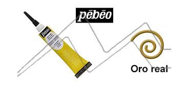 PEBEO CERNE RELIEF PASTA DE RELIEVE EN TUBO ORO REAL