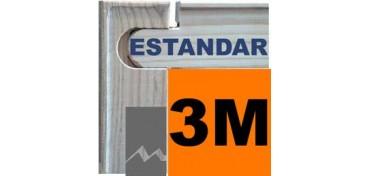 BASTIDOR MEDIDAS UNIVERSALES (ANCHO DE LISTÓN 46 X 17) 27 X 16 3M