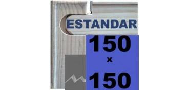 BASTIDOR MEDIDAS UNIVERSALES (ANCHO DE LISTÓN 46 X 17) 150 X 150