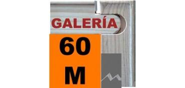 BASTIDOR GALERÍA 3D (ANCHO DE LISTÓN 46 X 32) 130 X 81 60M