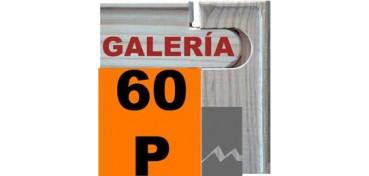 BASTIDOR GALERÍA 3D (ANCHO DE LISTÓN 46 X 32) 130 X 89 60P