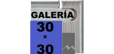 BASTIDOR GALERÍA 3D (ANCHO DE LISTÓN 46 X 32) 30 X 30