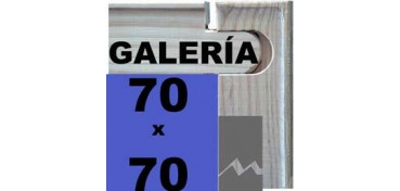 BASTIDOR GALERÍA 3D (ANCHO DE LISTÓN 46 X 32) 70 X 70