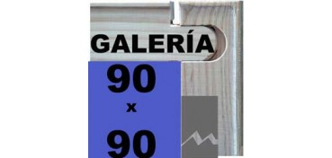 BASTIDOR GALERÍA 3D (ANCHO DE LISTÓN 46 X 32) 90 X 90
