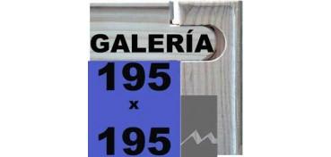 BASTIDOR GALERÍA 3D (ANCHO DE LISTÓN 46 X 32) 195 X 195