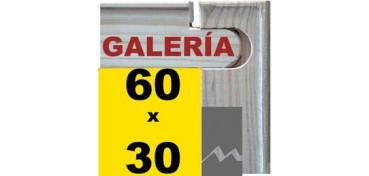 BASTIDOR GALERÍA 3D (ANCHO DE LISTÓN 46 X 32) 60 X 30