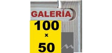 BASTIDOR GALERÍA 3D (ANCHO DE LISTÓN 46 X 32) 100 X 50