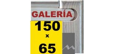 BASTIDOR GALERÍA 3D (ANCHO DE LISTÓN 46 X 32) 150 X 65