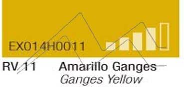 MONTANA HARDCORE SPRAY PINTURA AMARILLO GANGES Nº 11