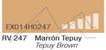 MONTANA HARDCORE SPRAY PINTURA MARRÓN TEPUY Nº 247