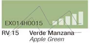 MONTANA HARDCORE SPRAY PINTURA VERDE MANZANA Nº 15