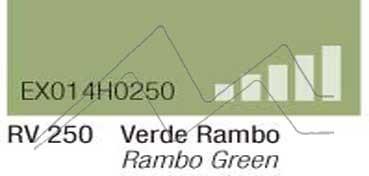 MONTANA HARDCORE SPRAY PINTURA VERDE RAMBO Nº 250