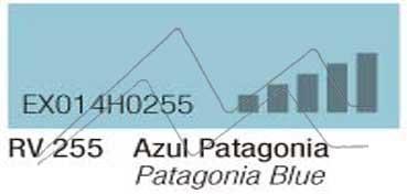 MONTANA HARDCORE SPRAY PINTURA AZUL PATAGONIA Nº 255