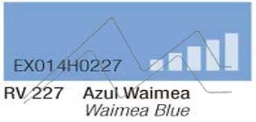 MONTANA HARDCORE SPRAY PINTURA AZUL WAIMEA Nº 227