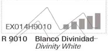 MONTANA HARDCORE SPRAY PINTURA BLANCO DIVINIDAD Nº 9010