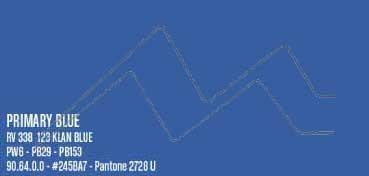MONTANA WATER BASED PINTURA EN SPRAY BASE AGUA PRIMARY BLUE Nº 338