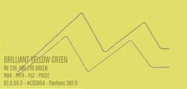 MONTANA WATER BASED PINTURA EN SPRAY BASE AGUA BRILLIANT YELLOW GREEN Nº 236