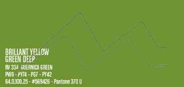 MONTANA WATER BASED PINTURA EN SPRAY BASE AGUA BRILLANT YELLOW GREEN DEEP Nº 334