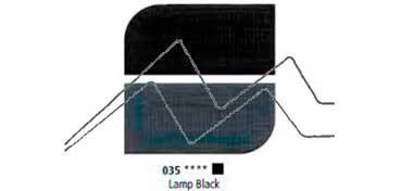 DALER ROWNEY ÓLEO FINO GRADUATE LAMP BLACK Nº 035