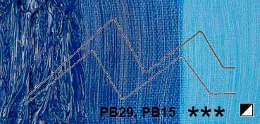 TALENS COBRA ÓLEO AL AGUA AZUL COBALTO ULTRAMAR - COBALT BLUE ULTRAMARINE - SERIE 3 - Nº 512