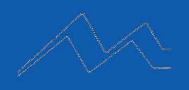 DECOART GLASS PAINT MARKERS - ROTULADORES AL AGUA PARA VIDRIO Y PORCELANA - AZUL (BLUE) DGPM11