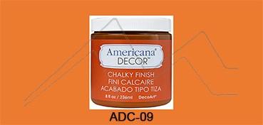 AMERICANA DECOR CHALKY FINISH NARANJA ANCESTRAL ADC-09