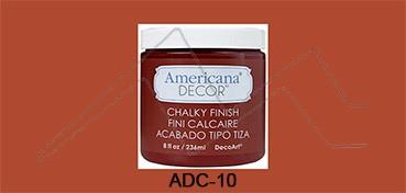 AMERICANA DECOR CHALKY FINISH ROJO CAMEO ADC-10