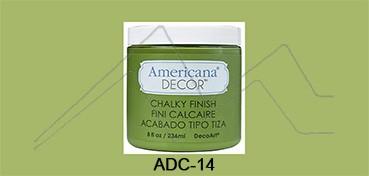 AMERICANA DECOR CHALKY FINISH VERDE NEW LIFE ADC-14