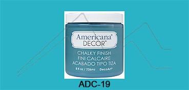 AMERICANA DECOR CHALKY FINISH TURQUESA TESORO ADC-19