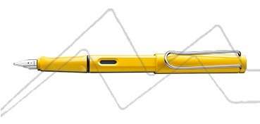 ESTILOGRÁFICA LAMY SAFARI - COLOR AMARILLO 18 M