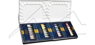MIJELLO ACUARELA ARTIST MISSION GOLD CLASS SET DE 36 TUBOS DE 7 ML CON PALETA DE ACUARELA MWCP - 7036