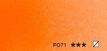 SCHMINCKE HORADAM TUBO DE ACUARELA ARTIST EDICIÓN LIMITADA 15 + 5 NARANJA TRANSPARENTE SERIE 2 Nº 218