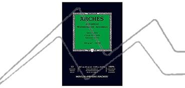 ARCHES BLOC ACUARELA 300 G 12 HOJAS - GRANO FINO
