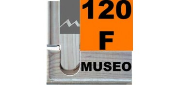 BASTIDOR MUSEO (ANCHO DE LISTÓN 60 X 22) 195 X 130 120F