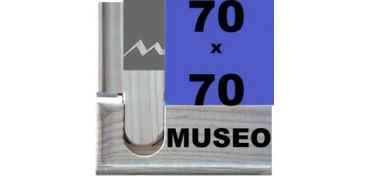 BASTIDOR MUSEO (ANCHO DE LISTÓN 60 X 22) 70 X 70