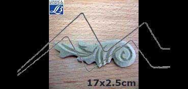 LEFRANC & BOURGEOIS SILUETA DECO 3D FANTASÍA Nº3 (17 X 2.5 X 0.5 CM)