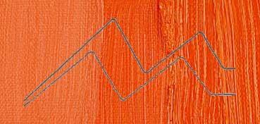 SENNELIER ÓLEO EXTRAFINO ROJO DE CADMIO ANARANJADO LEGÍTIMO - CADMIUM RED ORANGE - SERIE 6 - Nº 609