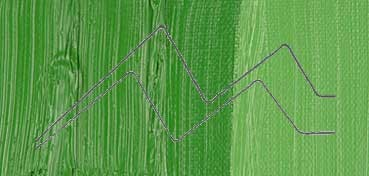 WINSOR & NEWTON ÓLEO WINTON VERDE CLAR0 PERMANENTE (PERM. GREEN LIGHT) (483) TUBO Nº  48