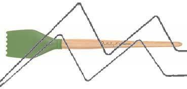 PRINCETON CATALYST PINCEL HOJA DE SILICONA FORMA 3 VERDE 50 MM (50X57MM)