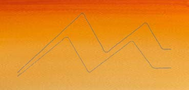 WINSOR & NEWTON ACUARELA COTMAN MEDIO GODET NARANJA DE CADMIO TONO - CADMIUM ORANGE HUE - Nº 090